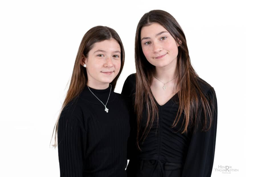 MGP-pigerne Melissa og Victoria